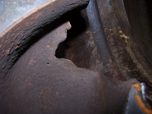 Steel plant detail 1 before